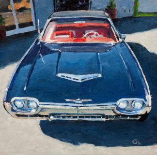 T-Bird painting by Raphael Schnepf