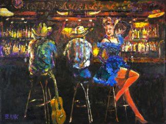 Cowboy Bar by Jerry Blank