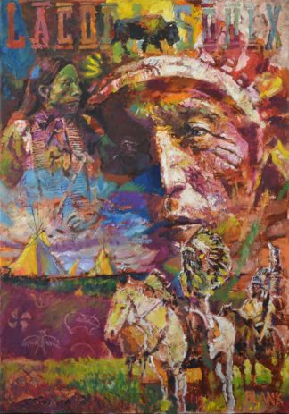 Sitting Bull by Jerry Blank