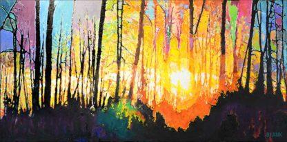 YELLOWSTONE SUNRISE by Jerry Blank